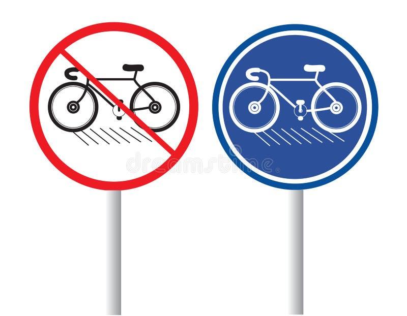 cyklar royaltyfri illustrationer
