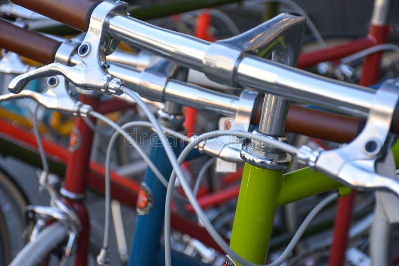 Cyklar i Manhattan royaltyfri bild