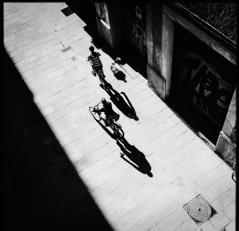 Cyklar Spanien royaltyfri fotografi