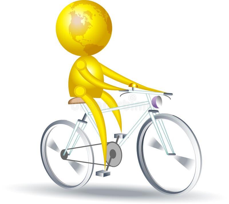 cyklista ilustracja wektor
