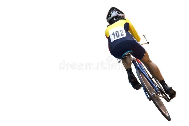 Cyklista obraz royalty free