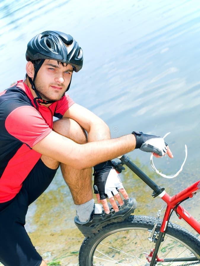 cyklista obrazy stock