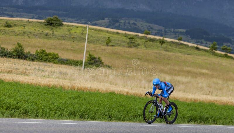 Download Cyklista Daniel Martin zdjęcie stock editorial. Obraz złożonej z ćwiczenie - 35324048