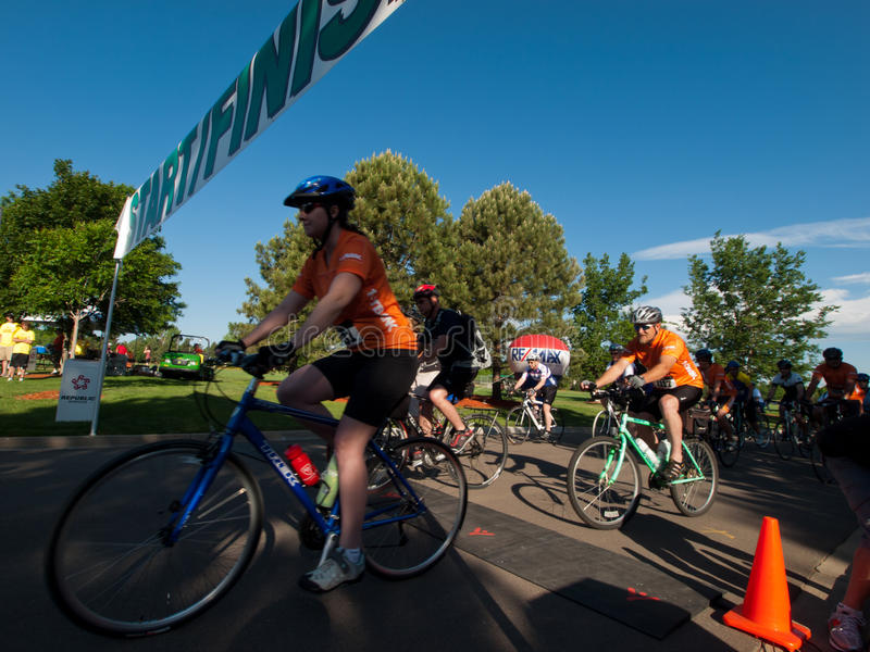 Cyklista rasa zdjęcie royalty free