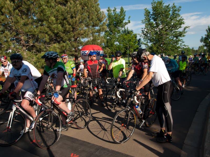 Cyklista rasa obrazy royalty free