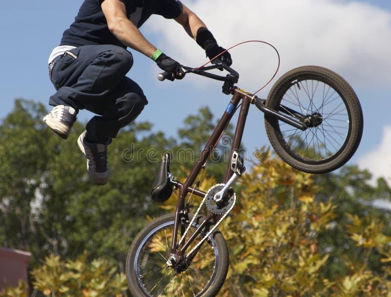 cyklistbmx arkivbilder