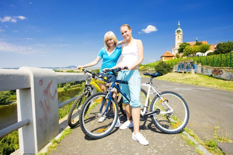 cyklister royaltyfri fotografi