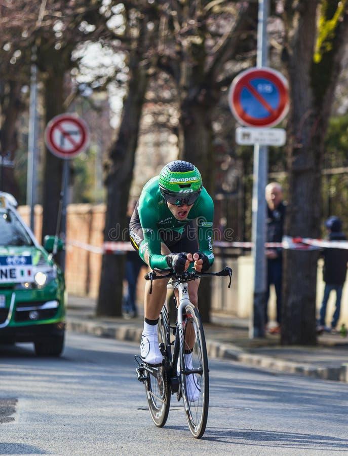 Download Cyklisty Malacarne Davide- Paryski Ładny 2013 Prolog W Houill Fotografia Editorial - Obraz: 31309067