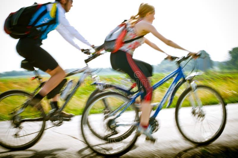 cyklisty ruch zdjęcie stock
