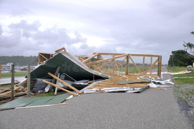 Cyklonu Ita szkoda zdjęcie stock