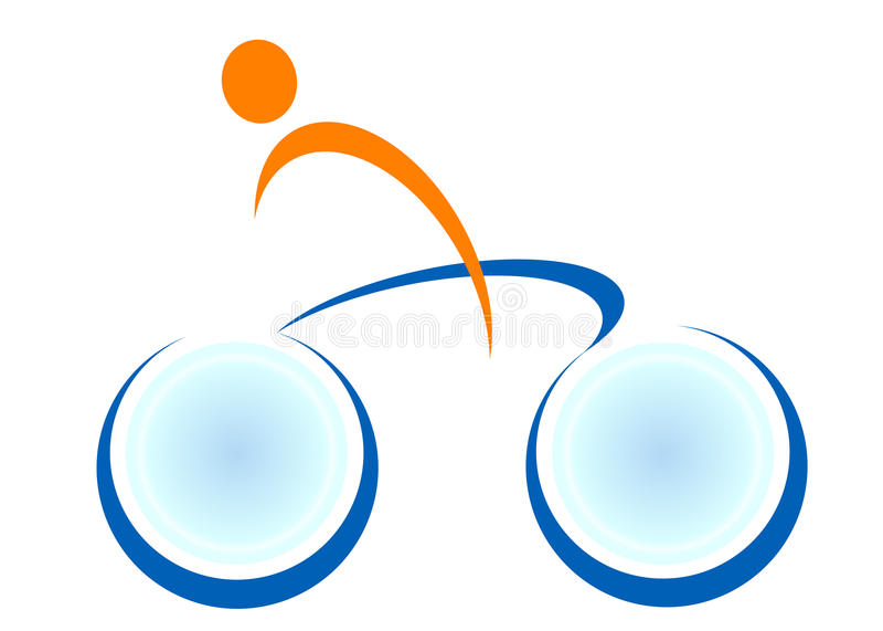 cyklu logo ilustracja wektor