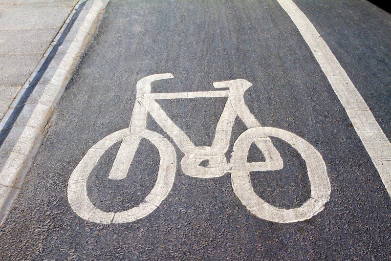 Cyklu pas ruchu zdjęcia stock