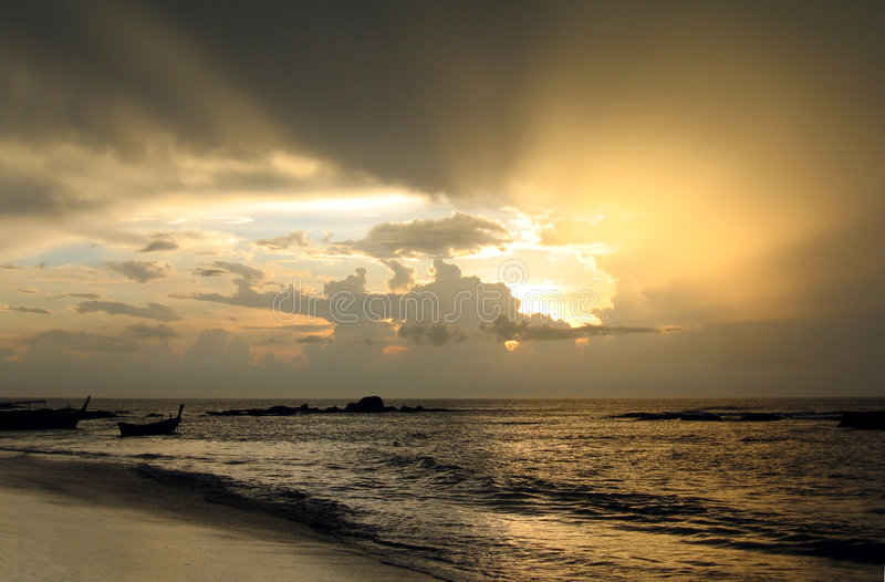 cylcone Ταϊλάνδη στοκ φωτογραφίες