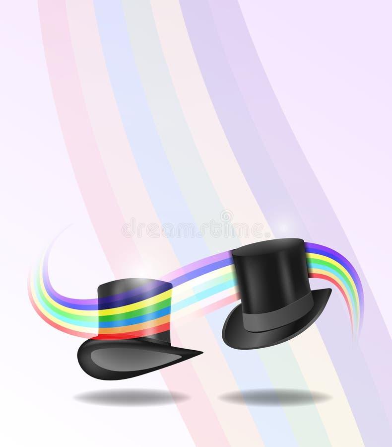 Cylinder Hats Stock Image