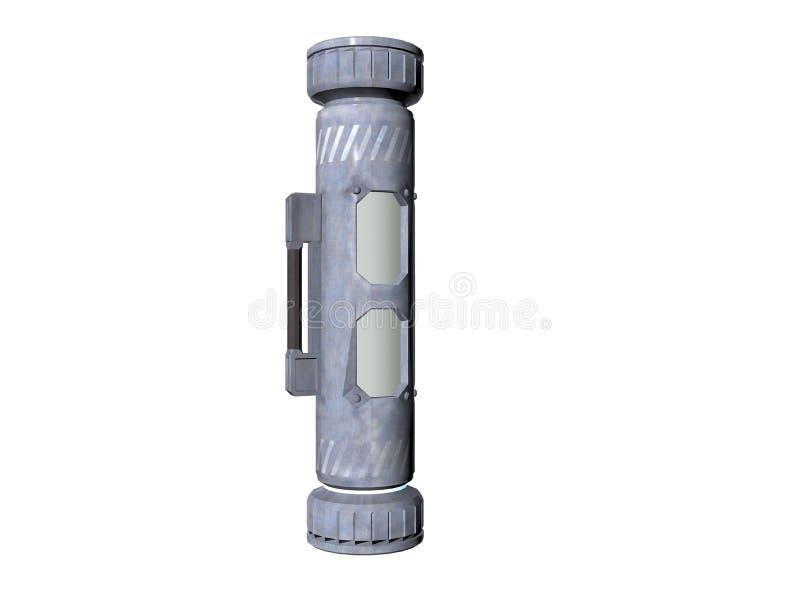 Cylinder One royalty free illustration