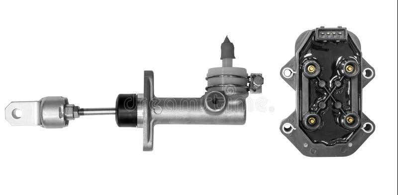 Cylinderkoppling- och tändningenhet arkivfoton