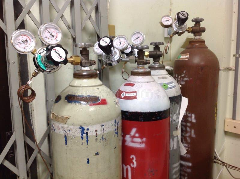 Cylindre de gaz photos stock