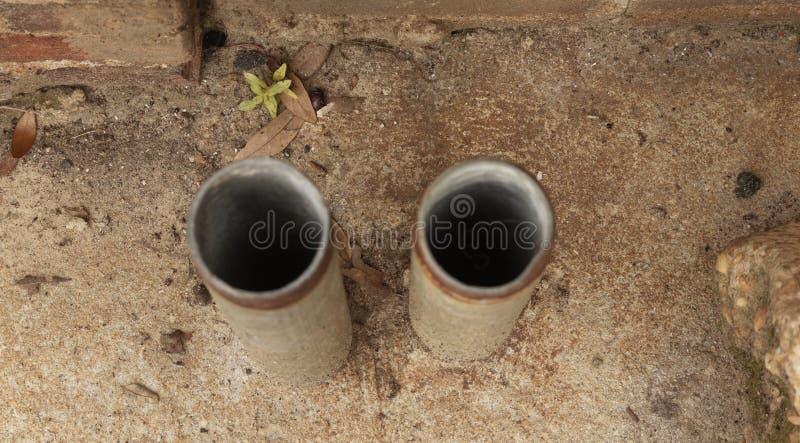 Cylindres rustiques image libre de droits