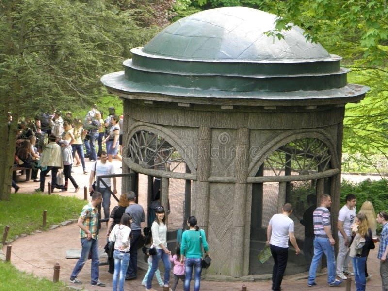 Cylindryczna altana zdjęcia royalty free