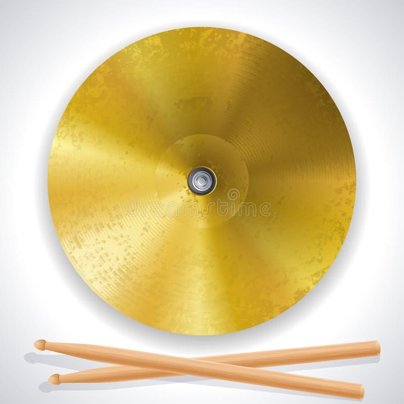 Cymbal royalty illustrazione gratis