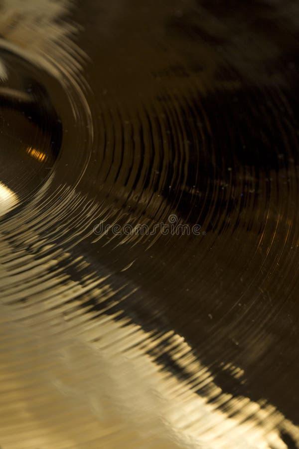 cymbal royaltyfria bilder