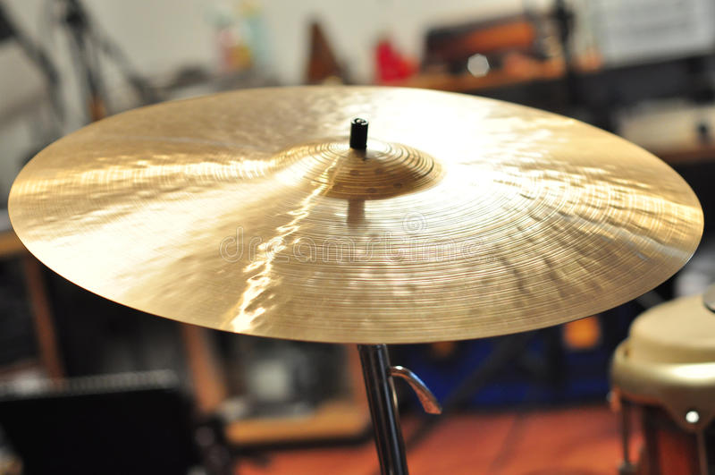 cymbal arkivbilder