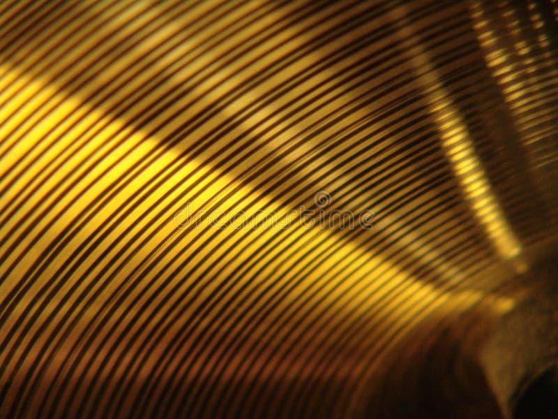 Cymbal Close-up stock photo
