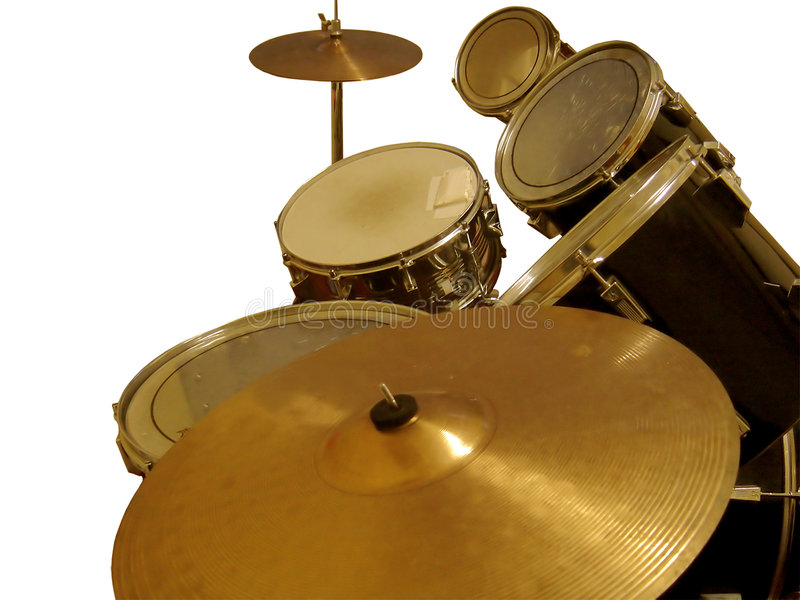 Download Cymbal and Drums stock image. Image of sticks, drum, metal - 49671