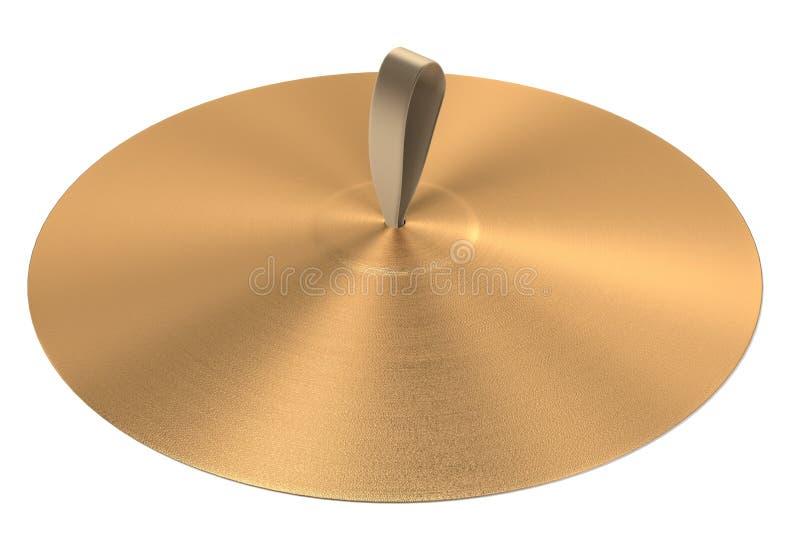 Cymbaler (musikalisk insturment) vektor illustrationer