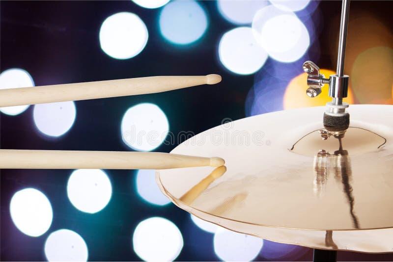 cymbales photo stock