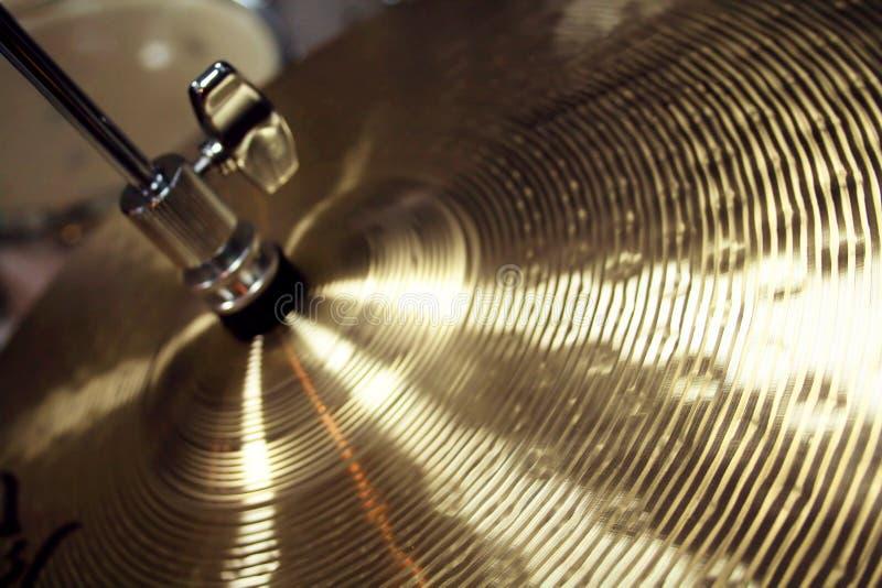 Cymbales photos libres de droits