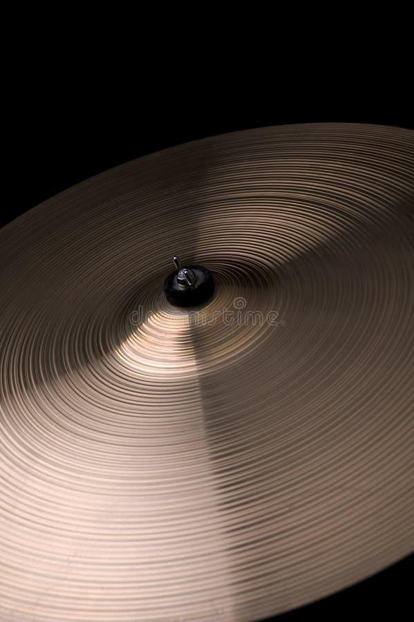 Cymbales photographie stock libre de droits