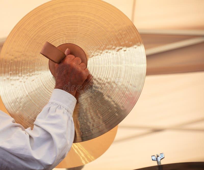 Cymbales image stock