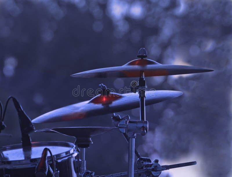 Cymbales image libre de droits