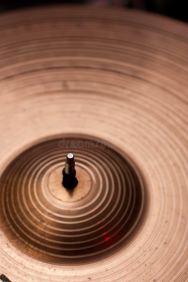 Cymbales en laiton images libres de droits