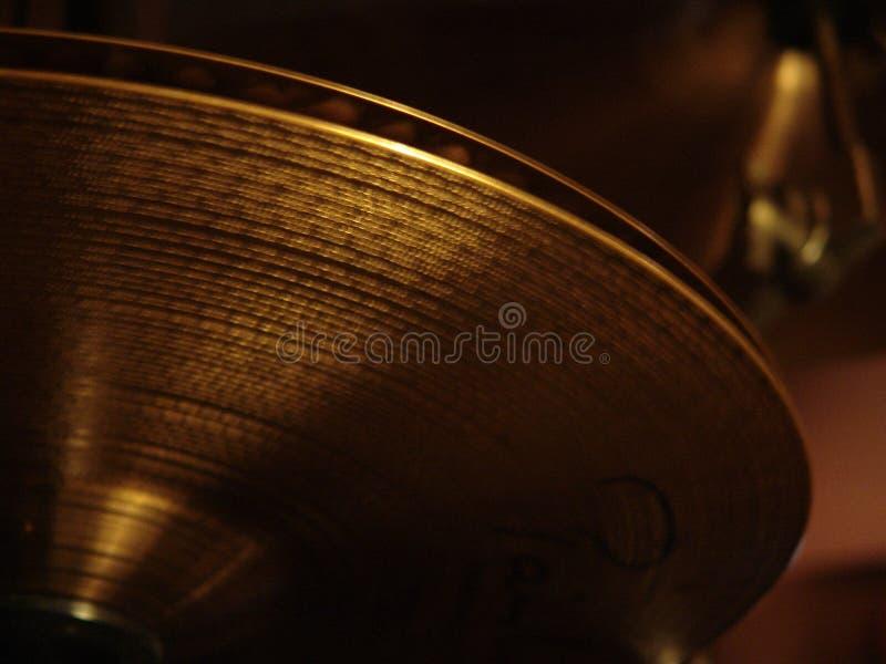 Cymbales Highhat de tambour photos stock