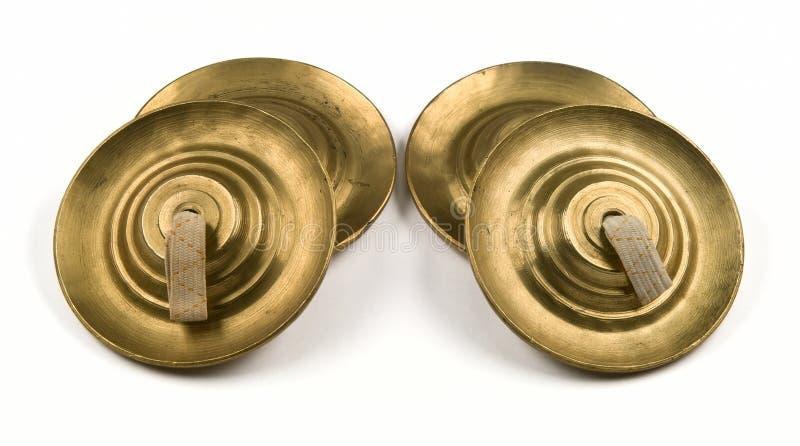 cymbales quatre image stock