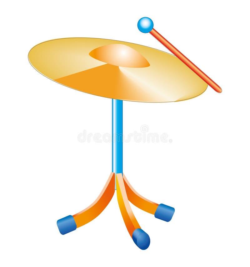 Cymbals stock image
