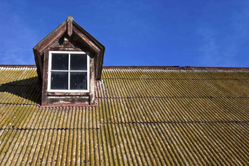Cyna stary Dach obrazy royalty free