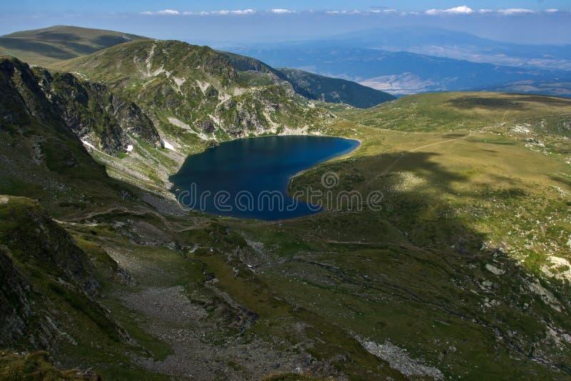 Cynaderki Siedem Rila jezior, Rila góra fotografia stock