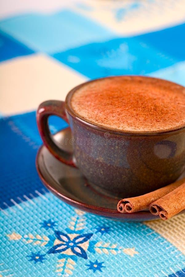 cynamonowa zimy kawowa zdjęcia royalty free
