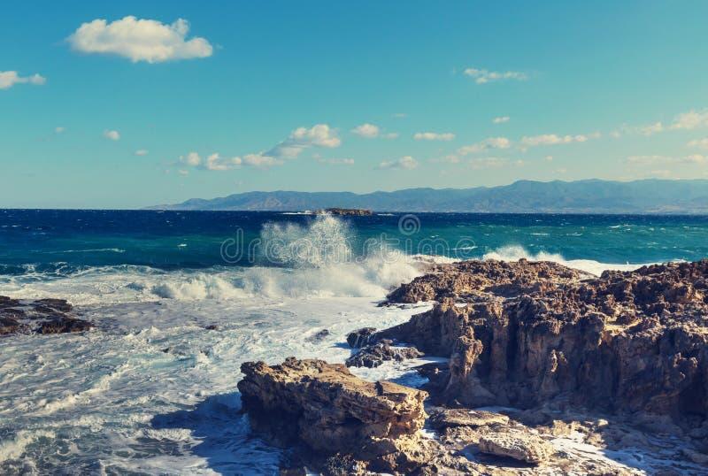 Cypern kust arkivfoton
