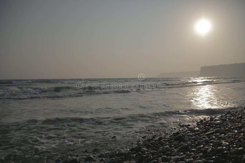 Cypr Episkopi plaża zdjęcia stock
