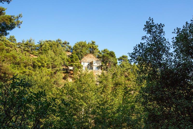 Cypr krajobraz fotografia royalty free