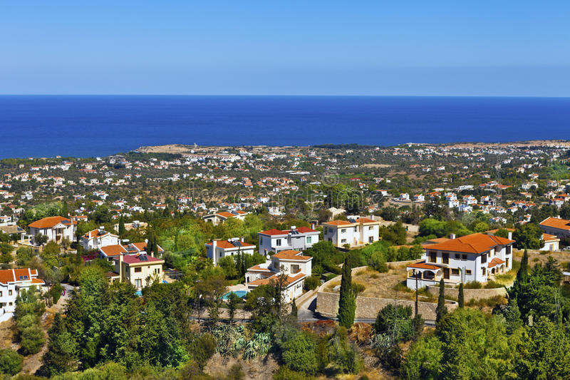 Cypr krajobraz. obraz royalty free