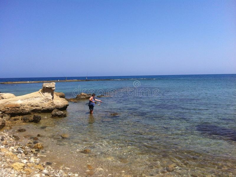 Cypr morze zdjęcia royalty free