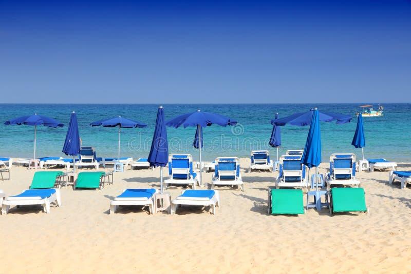 Cypr plaża obrazy royalty free