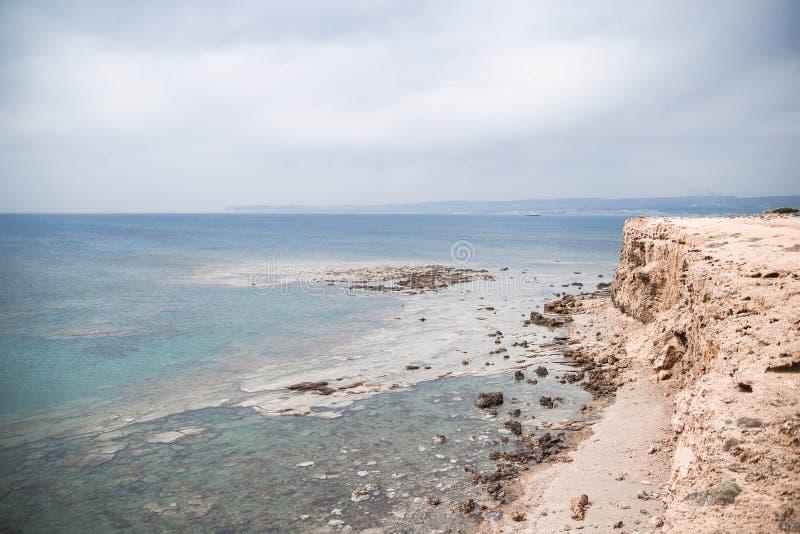 Cypr podróży natura widzii niebo zdjęcie stock