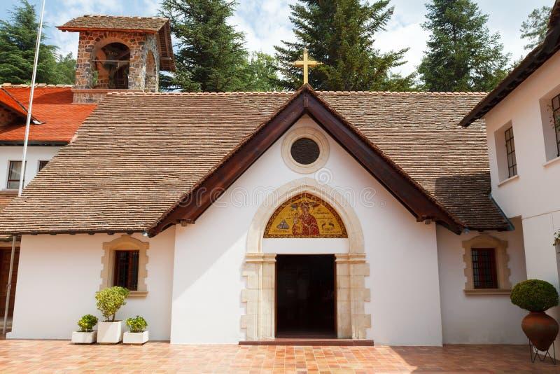 Cypr, Trooditissa monaster lokalizować na południowym skłonie Troodos pasmo górskie zdjęcie stock