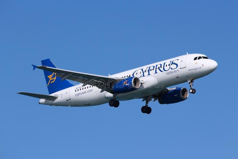 Cyprus Airways images libres de droits